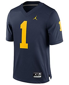 Men's Michigan Wolverines Replica Football Game Jersey