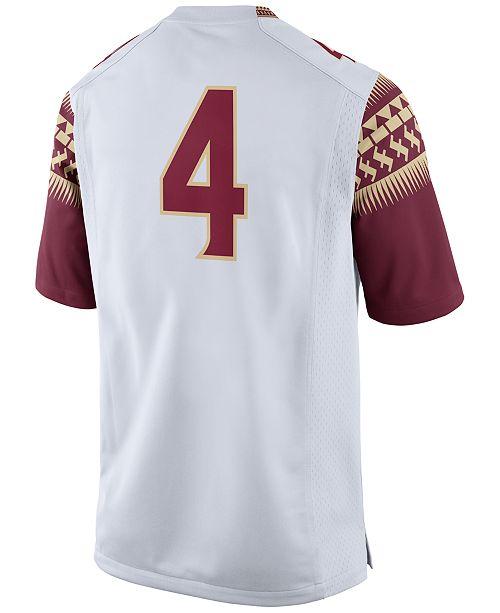 online store 1f607 647f1 Nike Men's Florida State Seminoles Replica Football Game ...