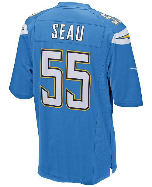 51a67ed1 Nike Men's Junior Seau San Diego Chargers Retired Game Jersey ...