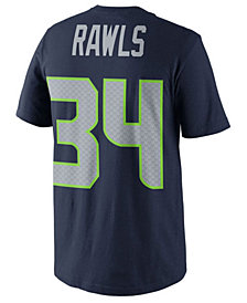 Nike Thomas Rawls Seattle Seahawks Pride Name and Number T-Shirt, Big Boys (8-20)