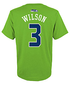 Outerstuff NFL  Russell Wilson T-Shirt, Little Boys (4-7)