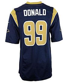 Nike Aaron Donald Los Angeles Rams Game Jersey, Big Boys (8-20)