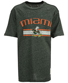Retro Brand Miami Hurricanes Mock Twist T-Shirt, Big Boys (8-20)