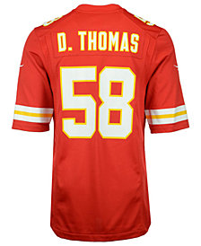 Nike Derrick Thomas Kansas City Chiefs Retired Player Game Jersey, Big Boys