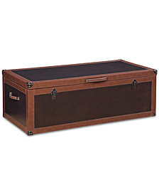 CLOSEOUT! Voyager Storage Trunk Coffee Table, Created for Macy's
