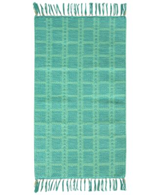 "Jessica Simpson Portola Cotton 20"" x 32"" Accent Rug"
