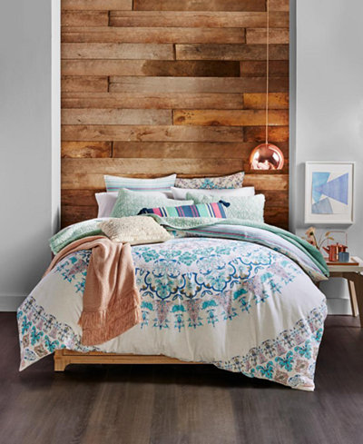 CLOSEOUT! Whim by Martha Stewart Collection Full Moon Reversible Bedding Ensembles, Created for Macy's