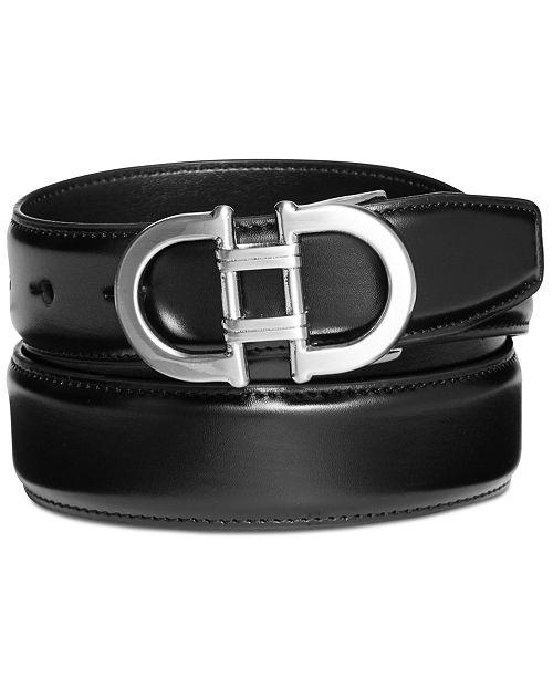 Alfani Men's James Plaque Belt, Created for Macy's