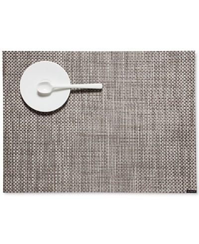 Chilewich 14 x 19 Basketweave Woven Vinyl Placemat