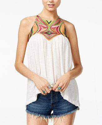 Free People Beach Date Contrast Top