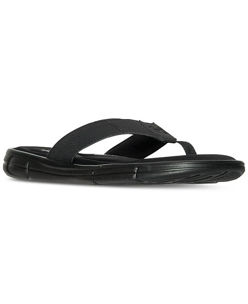 6774fe349f35 ... Under Armour Men s Ignite II Thong Flip-Flop Athletic Sandals from  Finish ...