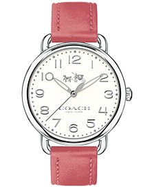 Women's Delancey Peony Leather Strap Watch 36mm 14502717