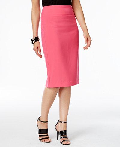 Alfani Classic Pencil Skirt, Created for Macy's