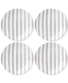 kate spade new york Charlotte Street Grey Set of 4 Tidbits