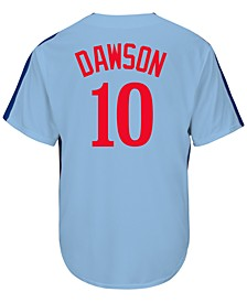 Men's Andre Dawson Montreal Expos Cooperstown Player Replica CB Jersey