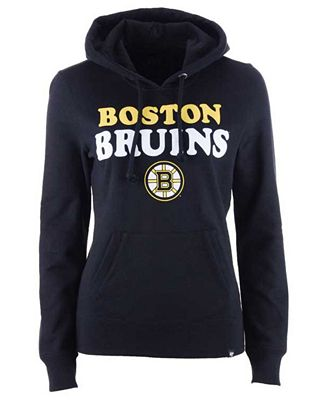 47 Brand Women S Boston Bruins Headline Hoodie Sports Fan Shop By