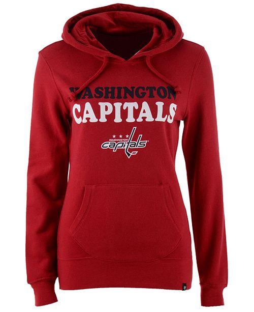 low priced 615ee 455e7 47 Brand Women's Washington Capitals Headline Hoodie ...