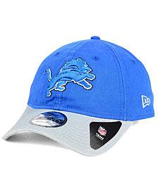 New Era Detroit Lions Relaxed 2Tone 9TWENTY Strapback Cap