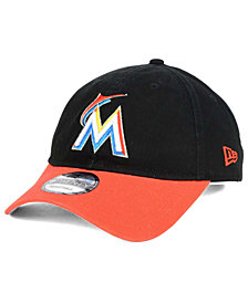 New Era Miami Marlins Relaxed 2Tone 9TWENTY Strapback Cap
