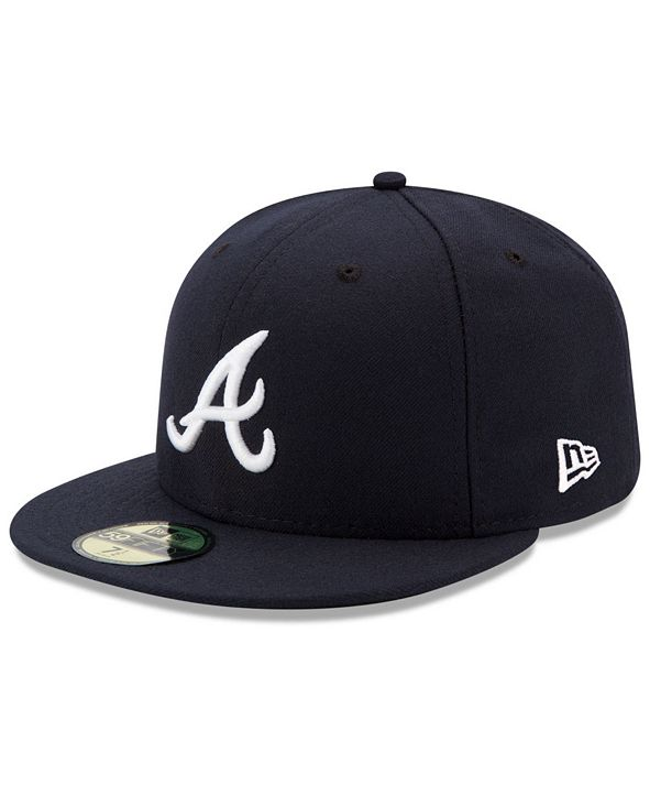 New Era Atlanta Braves Authentic Collection 59FIFTY Fitted Cap
