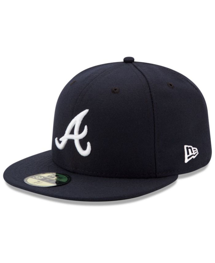 New Era Atlanta Braves Authentic Collection 59FIFTY Fitted Cap & Reviews - Sports Fan Shop By Lids - Men - Macy's