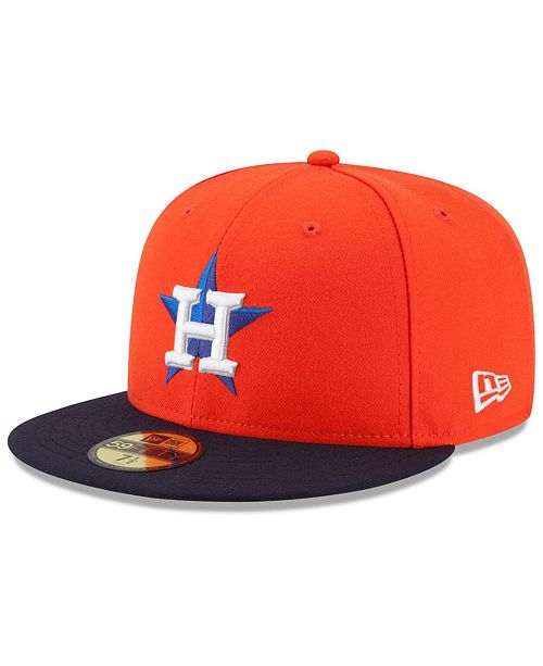 New Era Houston Astros Authentic Collection 59FIFTY Cap - Sports Fan ... 35eff3ca95b