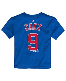 Majestic Toddlers' Javier Baez Chicago Cubs Player T-Shirt