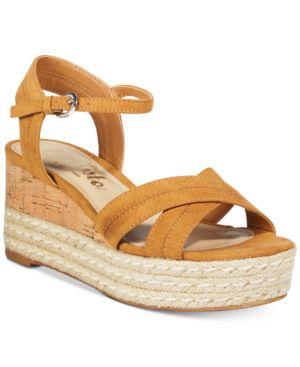Callisto Joujou Espadrille Platform Wedge Sandals Women