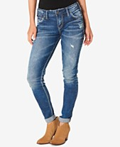 b0bca081b7d Silver Jeans Co. Mid Rise Girlfriend Jeans