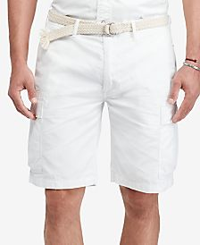 mens white polyester cargo shorts - Shop for and Buy mens white ...