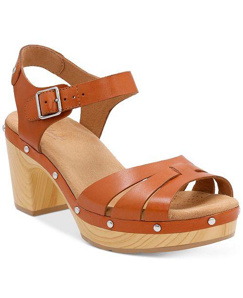 96d3b35ec0a5 Clarks Women s Ledella Trail Platform Sandals   Reviews - Sandals ...