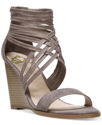 Image of Fergalicious Hunter Wedge Strappy Sandals