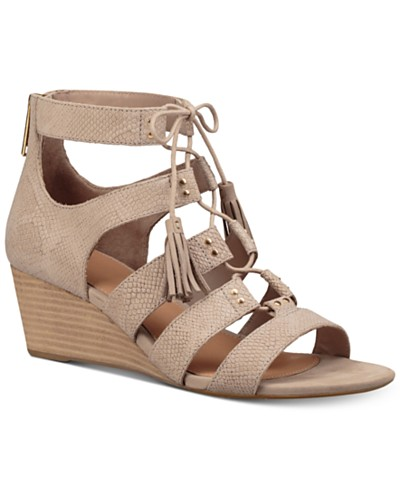 UGG® Yasmin Snake Wedge Sandals