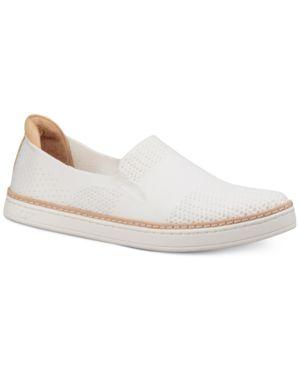 UGG Women'S Sammy Slip-On Sneakers in White