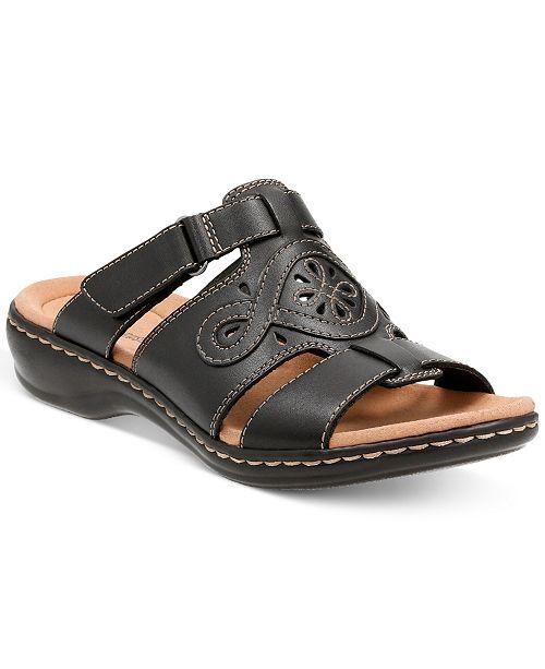 d776124dd75d Clarks Collection Women s Leisa Higley Flat Sandals   Reviews ...
