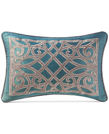 "Waterford Chateau 12"" x 18"" Breakfast Decorative Pillow"