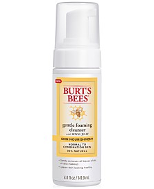 Burt's Bees Skin Nourishment Gentle Foaming Cleanser, 4.8 fl oz