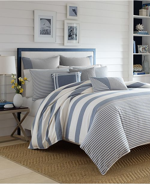 Nautica Fairwater Comforter Sets Comforters Down Alternative Bed Bath Macy 39 S