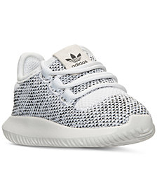 adidas Toddler Girls' Tubular Shadow Knit Casual Sneakers from Finish Line