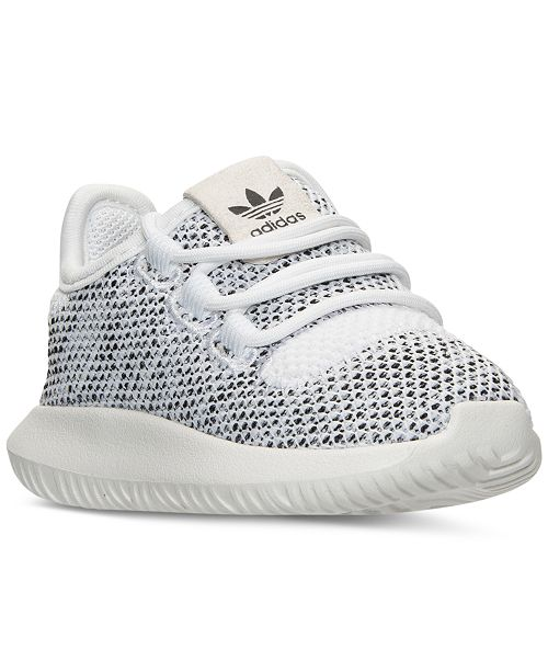 ... adidas Toddler Girls  Tubular Shadow Knit Casual Sneakers from Finish  ... fec6038bd