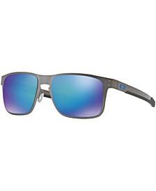 Polarized Holbrook Metal Prizm Sapphire Polarized Sunglasses , OO4123 55