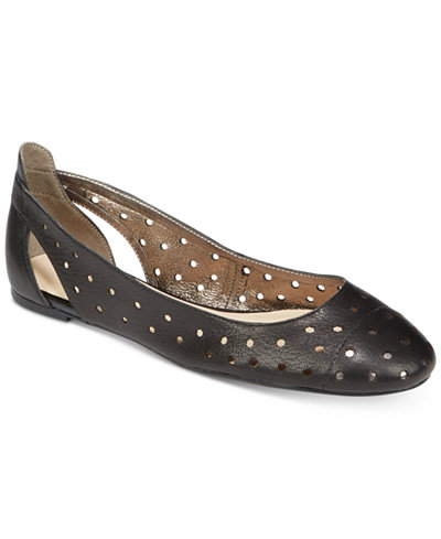 Nine West Marie Perforated Ballet Flats Flats Shoes