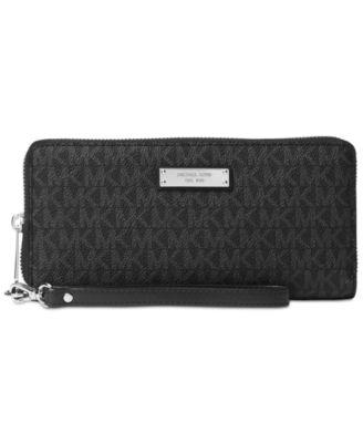 michael kors signature jet set item travel continental wallet rh macys com