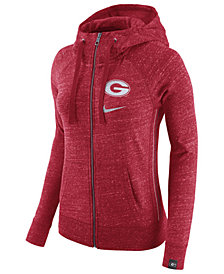 Nike Women's Georgia Bulldogs Vintage Full-Zip Hoodie