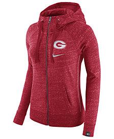 Nike Women's Georgia Bulldogs Vintage Full-Zip Hoodie