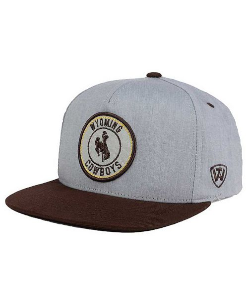 Top of the World Wyoming Cowboys Illin Snapback Cap & Reviews