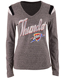 5th & Ocean Women's Oklahoma City Thunder Travel Long-Sleeve T-Shirt