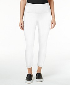 Cropped Tummy-Control Leggings, Created for Macy's