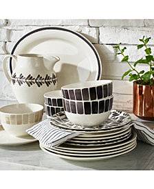 CLOSEOUT! Martha Stewart Collection Heirloom Dinnerware Collection, Created for Macy's