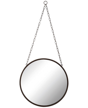 Metal-Framed Mirror with...